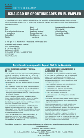 Equal Employment Opportunity (Spanish) PDF