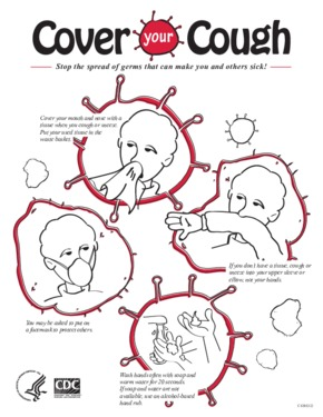 Free Health CDC Cover Your Cough PDF