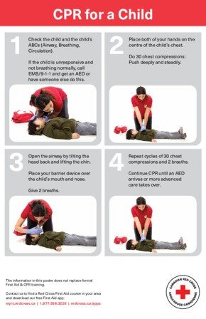 Free First Aid Red Cross Child CPR PDF