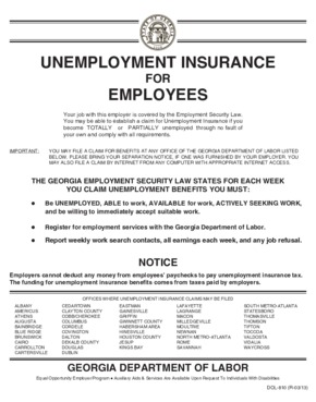 Unemployment Insurance for Employees PDF