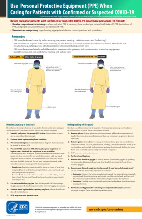 Free Health Use Personal Protective Equipment when caring for Patients with Confirmed or Suspected COVID PDF
