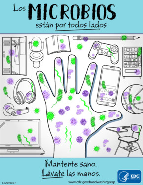 Free Health Stay Healthy Wash Your Hands (Spanish) PDF