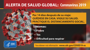 Free Health Travel Health Alert: Global Health Alert (Spanish) PDF