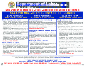 Your Rights Under Illinois Employment Laws (Spanish) PDF
