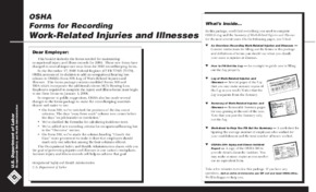 Summary of Work-Related Injuries and Illnesses PDF