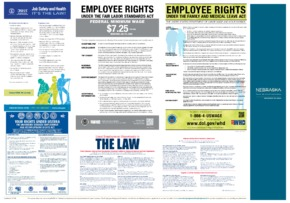 Free Nebraska Nebraska's Federal All-In-One Poster PDF (Job Safety Law Poster)