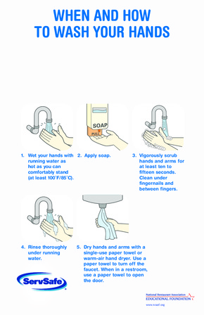 Free New Mexico New Mexico Handwashing Poster PDF (Health Notice Poster)