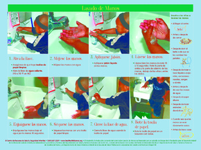 Free North Carolina North Carolina Handwashing Poster (Spanish) PDF (General Labor Law Poster Poster)