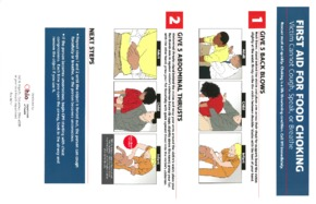 Free Ohio Ohio First Aid for Food Choking Poster PDF (First Aid Poster)