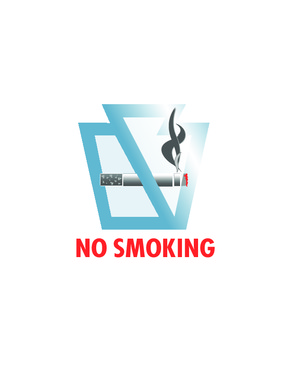 Clean Indoor Air Act No Smoking Sign PDF