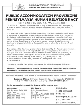 Public Accommodation PDF