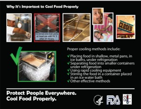 Free Restaurant FDA Why It's Important to Cool Food Properly PDF