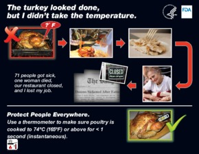 Free Restaurant FDA Poultry Cooking Temperature PDF
