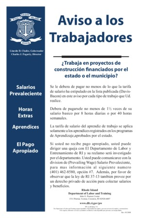 Prevailing Wage (Spanish) PDF