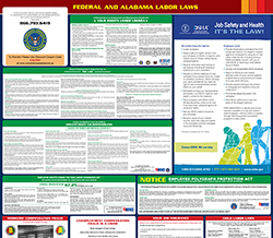 All-in-one alabama labor law poster
