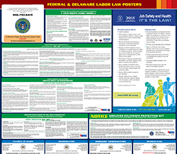 All-in-one delaware labor law poster