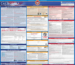 All-in-one California labor law poster