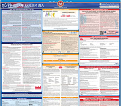 All-in-one District Of Columbia labor law poster