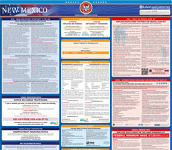 All-in-one New Mexico labor law poster