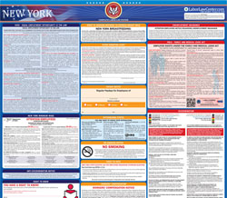 All-in-one New York labor law poster