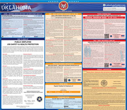 All-in-one Oklahoma labor law poster