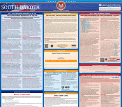 All-in-one South Dakota labor law poster