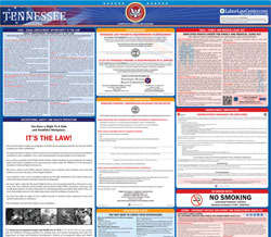 All-in-one Tennessee labor law poster