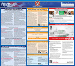 All-in-one Virginia labor law poster