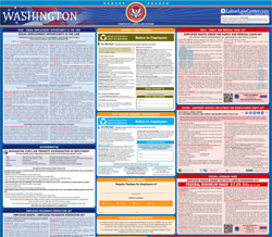 All-in-one Washington labor law poster