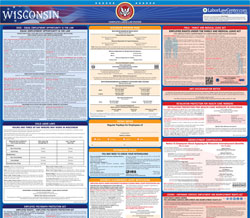 All-in-one Wisconsin labor law poster