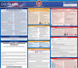 All-in-one Colorado labor law poster