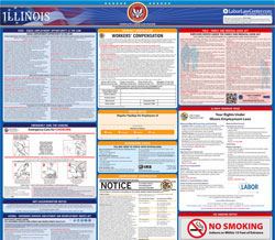 All-in-one Illinois labor law poster