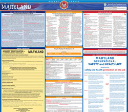 All-in-one md labor law poster