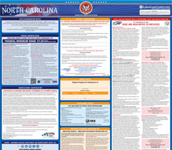 All-in-one North Carolina labor law poster