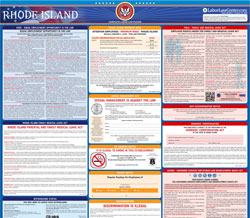 All-in-one Rhode Island labor law poster
