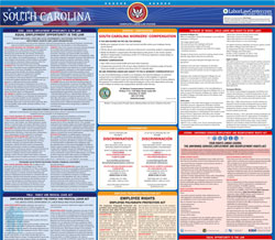 All-in-one South Carolina labor law poster