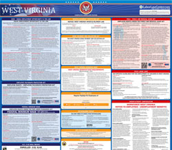 All-in-one West Virginia labor law poster
