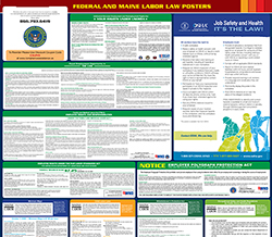 Maine Minimum Wage & Labor Law Poster