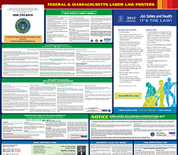 All-in-one massachusetts labor law poster