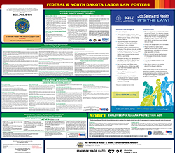 North Dakota Minimum Wage & Labor Law Poster