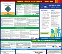All-in-one south-dakota labor law poster