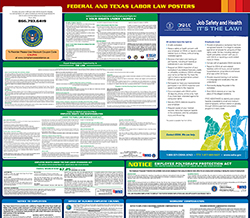 Texas Minimum Wage & Labor Law Poster