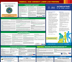 Vermont Minimum Wage & Labor Law Poster