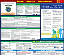 Virginia Minimum Wage & Labor Law Poster