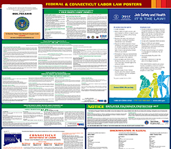 All-in-one connecticut labor law poster