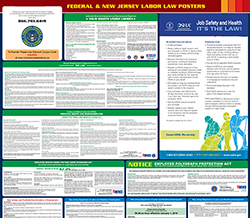 All-in-one new-jersey labor law poster