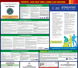All-in-one new-york labor law poster